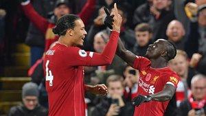 Imagen de archivo de un encuentro del Liverpool en Premier