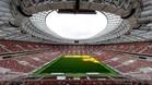 El imponente Luzhniki acoge el partido inaugural del Mundial