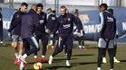 Jasper Cillessen durante el entrenamiento del Barça de este viernes