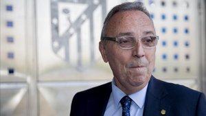 Joan Gaspart ha defendido su inocencia ante el juez