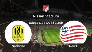 Jornada 21 de la Major League Soccer: previa del encuentro Nashville SC - New England Revolution