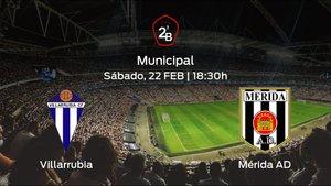Jornada 26 de la Segunda División B: previa del encuentro Villarrubia - Mérida AD