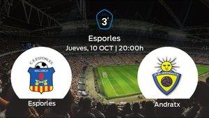 Jornada 8 de la Tercera División: previa del duelo Esporles - Andratx