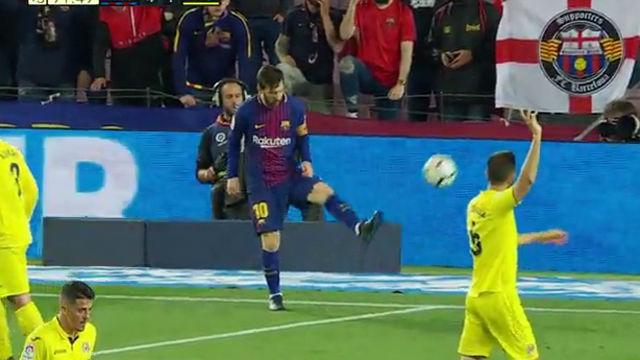 LALIGA | FC Barcelona - Villarreal (5-1): Messi marcó de cuchara en fuera de juego
