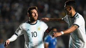 Lionel Messi volvió a aparecer para ser la gran figura de Argentina