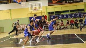 El Lliçà se impuso en la pista del Sol Gironès Bisbal Baloncesto con contundencia (63-59)
