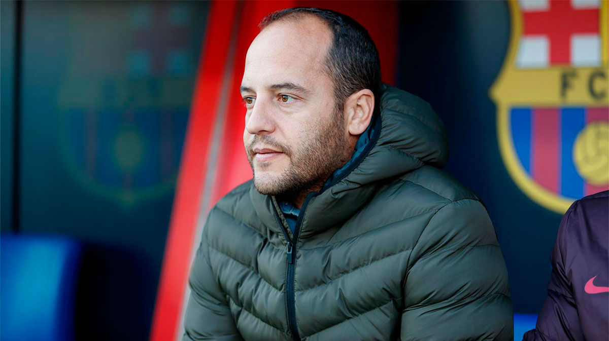Lluís Cortés explica que continúa al frente del Barça Femenino
