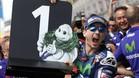 Lorenzo celebra su triunfo en Francia