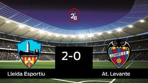 Los tres puntos se quedaron en casa: Lleida Esportiu 2-0 At. Levante