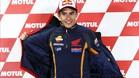 Marc Márquez en el circuito de Motegi, Japón