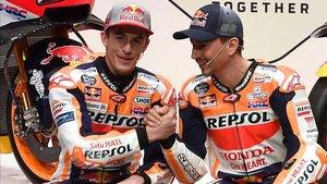 Márquez y Lorenzo, cara a cara en Catar