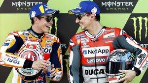 Márquez y Lorenzo, el demoledor tandem de Honda para 2019
