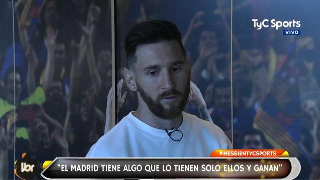 Messi: El Madrid jugando mal gana
