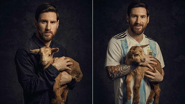 Messi protagoniza el nuevo anuncio de adidas con una cabra