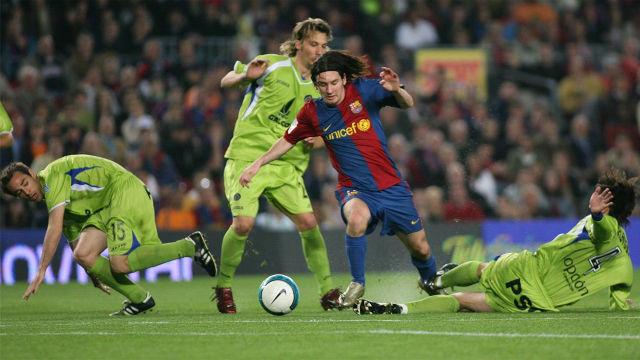 Messi realizó uno de los goles más míticos de su carrera ante el Getafe