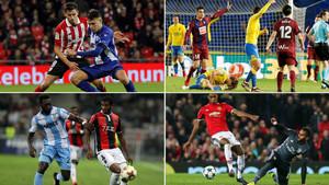Munir, Samper, Marlon y Douglas son os cuatro cedidos del Barcelona