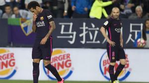 Neymar e Iniesta coincidieron en el Barça durante cuatro temporadas