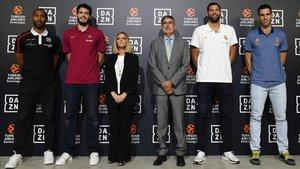 La nueva temporada de euroliga se presentó en un acto organizado por la nueva plataforma televisiva DAZN