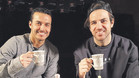 Pedro Rodríguez y Cesc Fàbregas, ahora jugadores del Chelsea, compartieron la hora del té con Barça TV