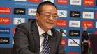 El presidente del Espanyol, Chen Yansheng