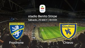 Previa del partido: el Frosinone recibe al Chievo en la última jornada