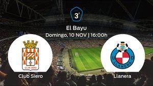 Previa del partido de la jornada 12: Club Siero contra Ud Llanera