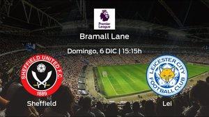 Previa del partido: el Sheffield Utd recibe al Leicester City en la undécima jornada