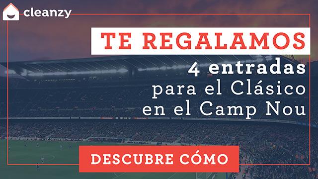 ¿Quieres ir al clásico del Camp Nou gracias a cleanzy? (ES)