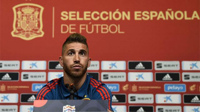 Ramos analiza su relación con Luis Enrique
