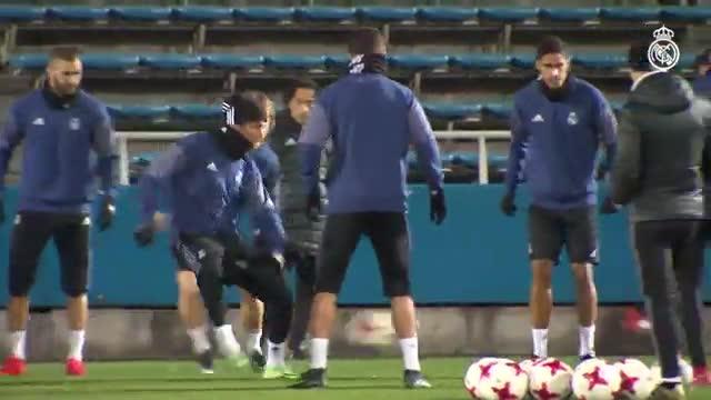 El Real Madrid prepara la final del Mundial de Clubes