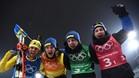El relevo sueco celebra la victoria en Alpensia