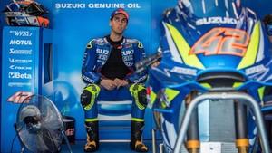 Rins, contento con su renovación por Suzuki