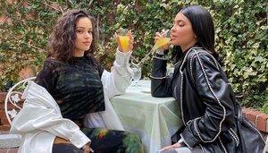 Rosalía y Kylie Jenner incendian las redes con su reunión
