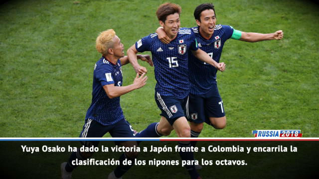 Rusia 2018   Sorpresa en Saransk: Japón venció a Colombia en el debut