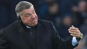 Sam Allardyce, técnico del Everton