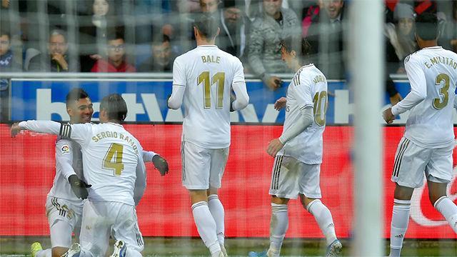 Sergio Ramos marcó el primer tanto del Real Madrid en Mendizorroza