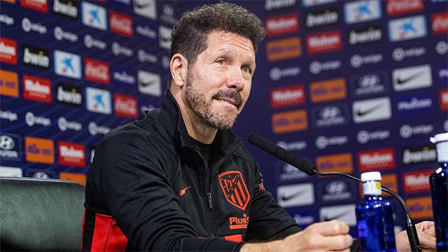 Simeone: El Atlético de Madrid ocupa mi vida