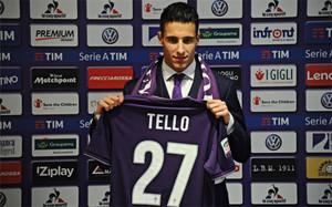 Tello puede acabar en la Fiorentina