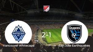 Triunfo 2-1 del Vancouver Whitecaps frente al San Jose Earthquakes