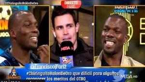 La troleada del primo de Pogba a Edu Aguirre en El Chiringuito
