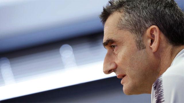 Valverde: Esta lista es un mensaje para Aleñá