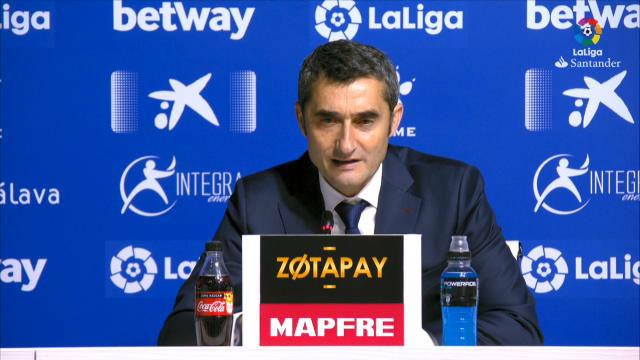 Valverde: Llevamos muchos meses persiguiendo esto