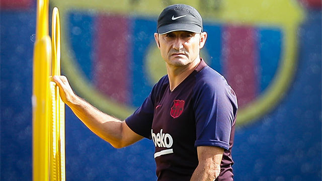 Valverde, sobre Dembélé: Siempre esperamos muchas cosas de él