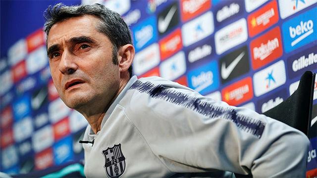 Valverde valoró positivamente la evolución de Cucurella