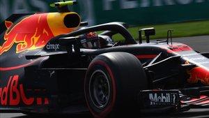 Verstappen, el más rápido en la P1 Interlagos