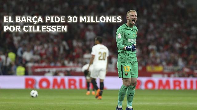 VIDEONOTICIA SPORT: El Barça pide 30 millones por Cillessen