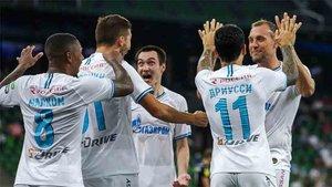 El Zenit se proclama campeón de Rusia