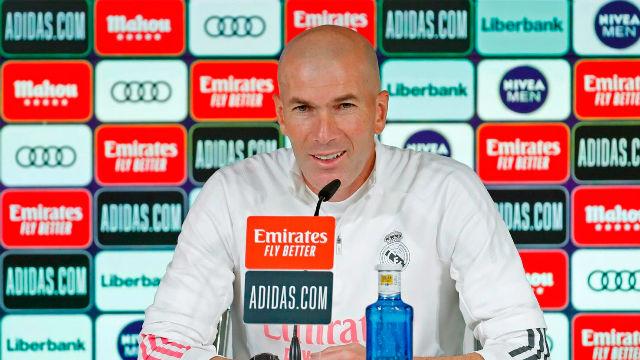 Zidane asegura que no hay que cambiar nada en la plantilla