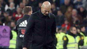 Zidane quedó nuevamente eliminado de la Copa del Rey